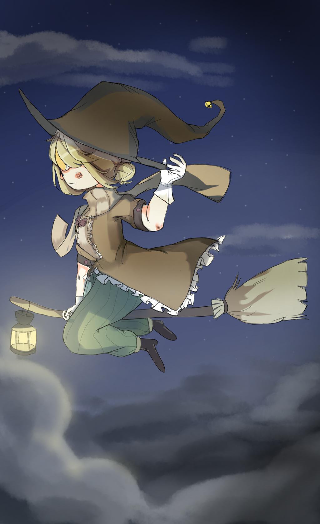 Flying through the night by justarandomfruit