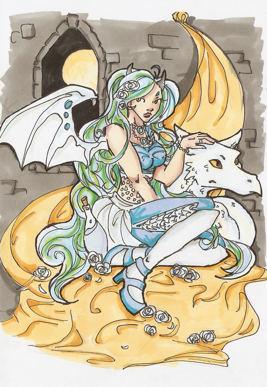 Dragon lady by yamiswift