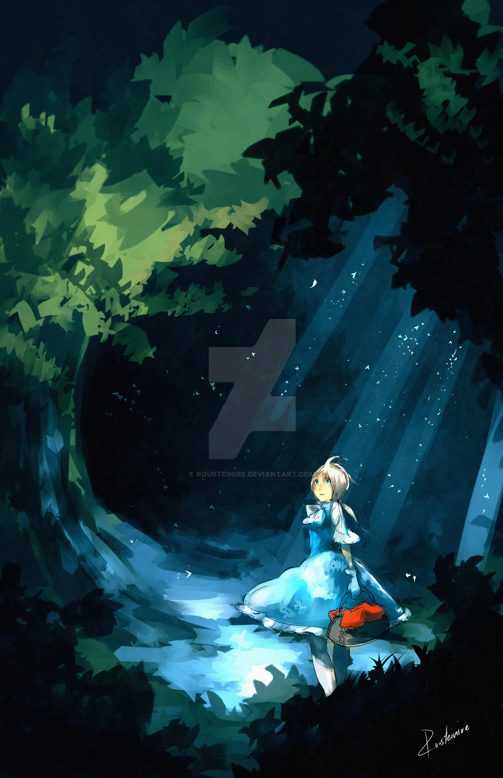 100 Theme - Alice in Wonderland by Rousteinire