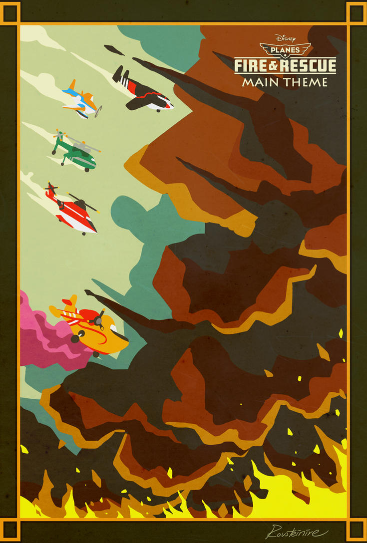 Planes - Fire and Rescue by Rousteinire