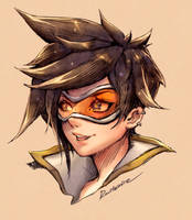 Overwatch - Tracer by Rousteinire