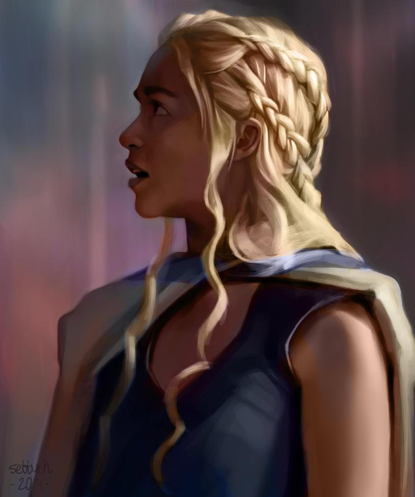 Daenerys Targaryen by sebtuch