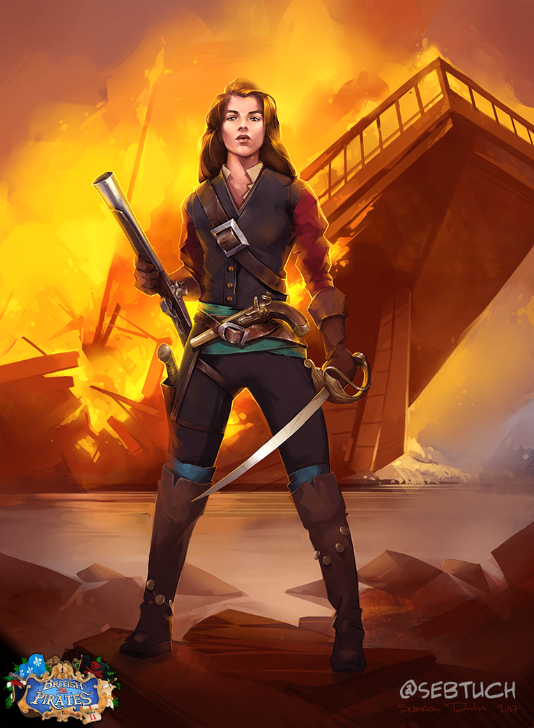Captain Fiona by sebtuch