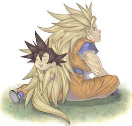 Father, Son Bonding by ChimeraHatake