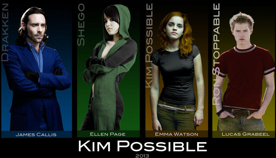 Kim possible cast by everyone92 on deviantart