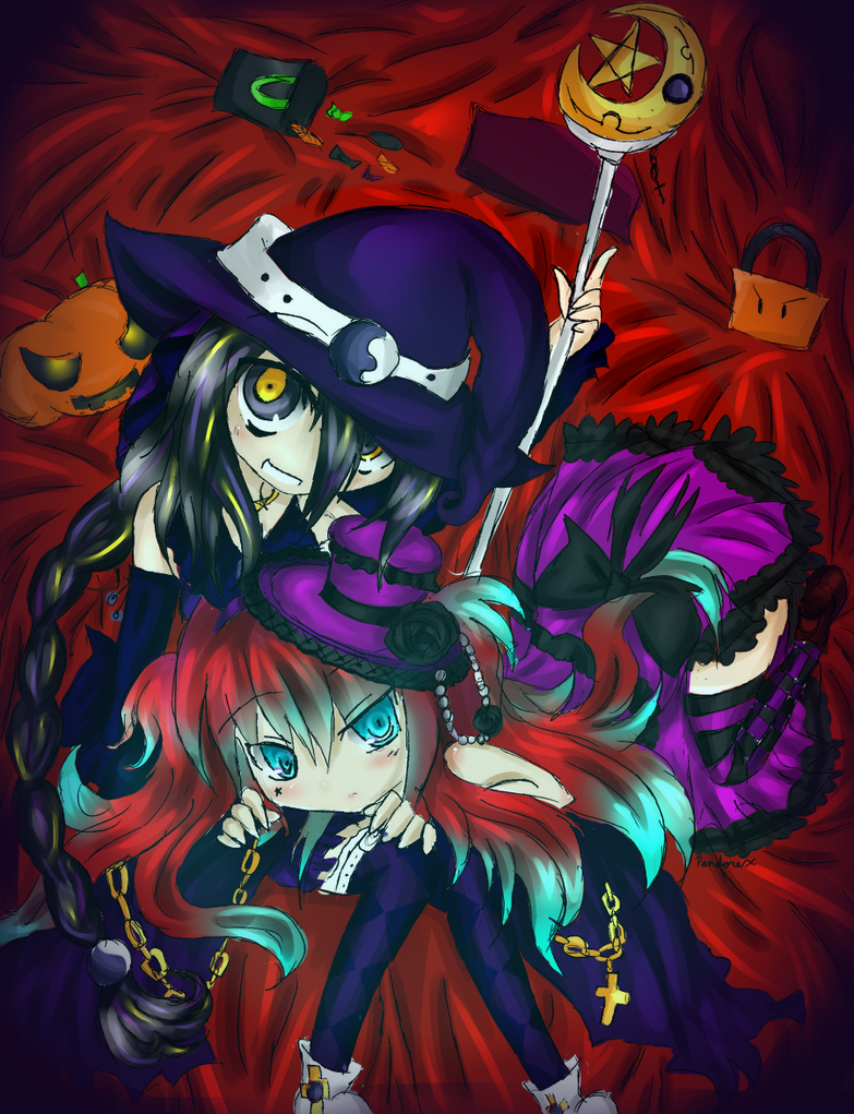 Collab: The Witch and her Doll by Pandorex