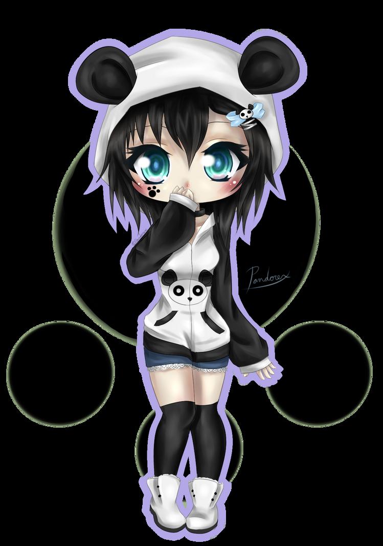 Lil Panda girl by Pandorex