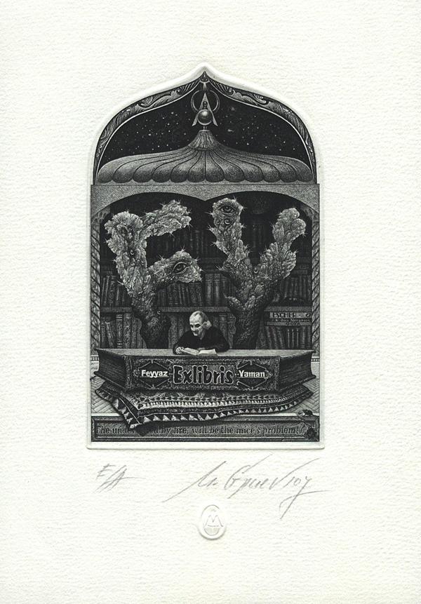Ex Libris: Mr. Feyyaz Yaman by mgruev
