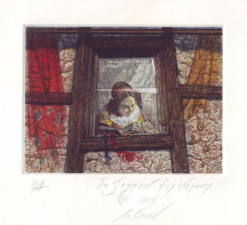 In Sorrow for Vermeer by mgruev