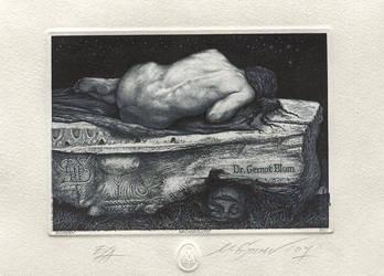 Ex Libris Dr Gernot Blum by mgruev