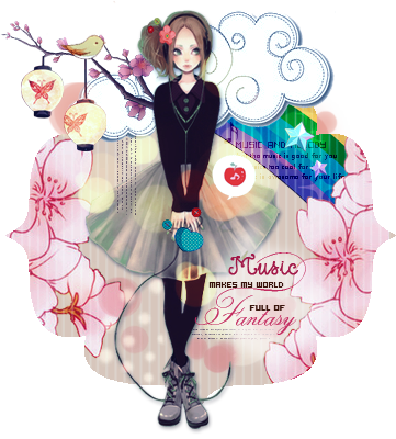 My world full of fantasy by belem3579