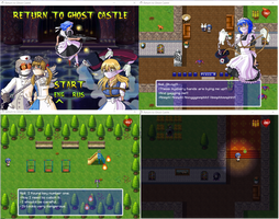Return to Ghost Castle the Game by Nidichka