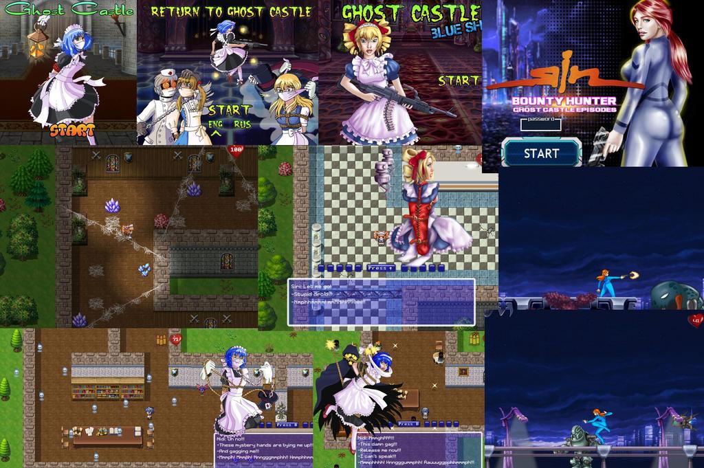 Ghost Castle series 4 in 1