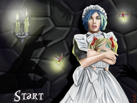 Ghost Castle - Maid in the DARK (start new game)