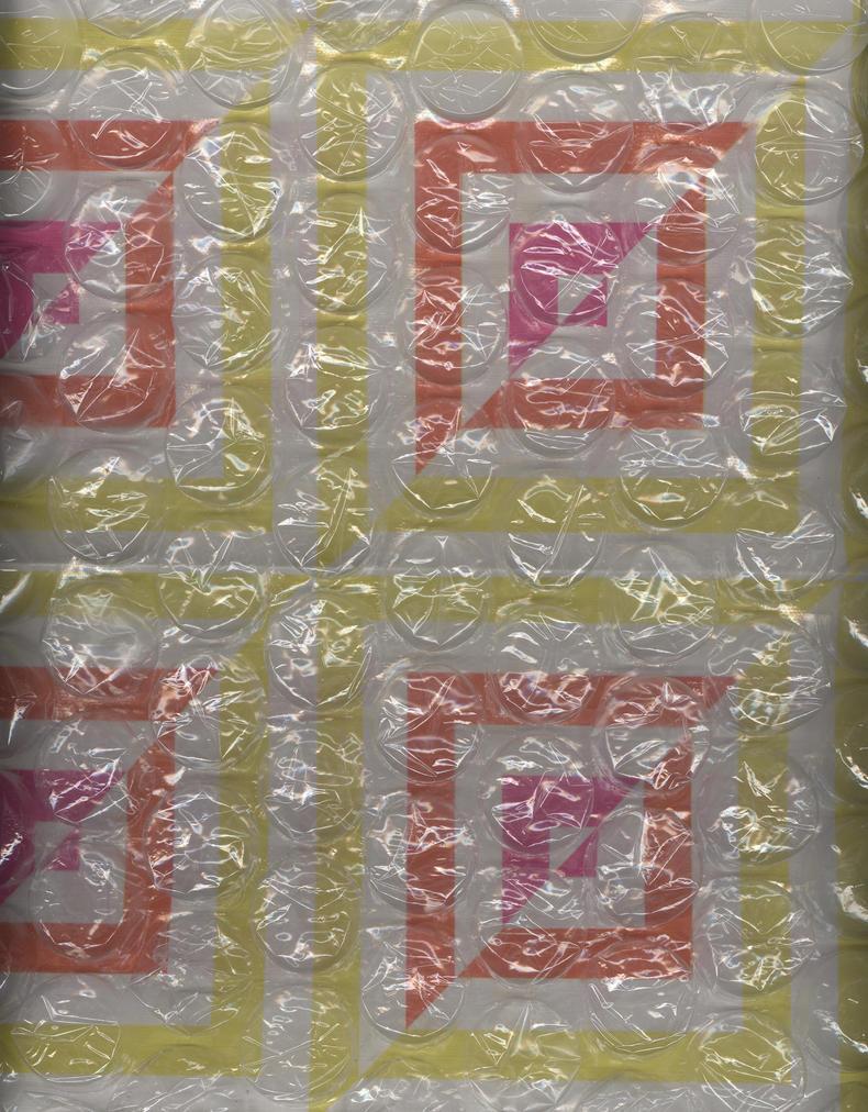 squares under bubblewrap by Techture