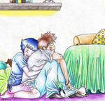 In Hinata's bedroom...