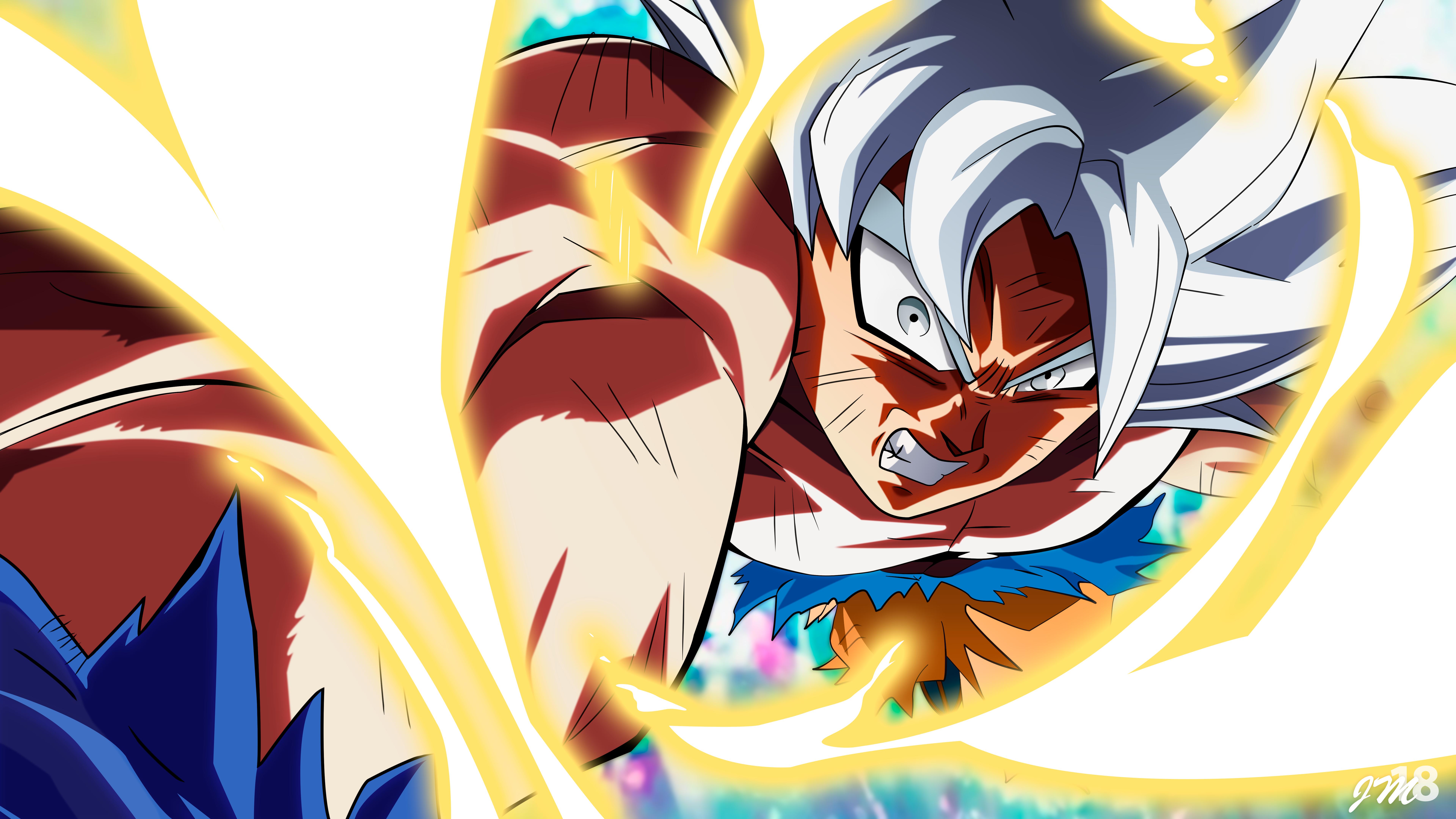 Wallpaper 8k Goku Ultra Instinct No Effects By Jm24cule On Deviantart