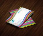 Rainbow Style Business Card by ashanur