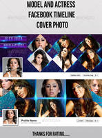 Model And Actress Facebook Timeline Cover by ashanur