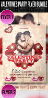 Valentines Party Flyer by ashanur