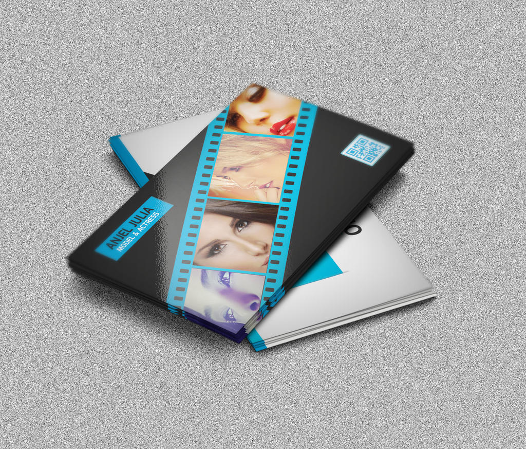 Model Actress Film Maker Business Card by naeem1200 on DeviantArt