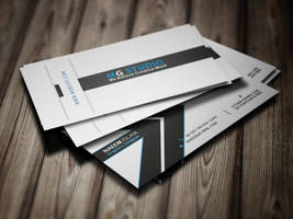 Corporate Business Card by ashanur