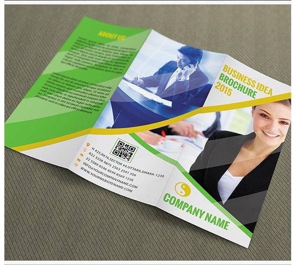 Free download Trifold Brochure Template