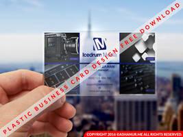 Free Dwonalod Plastic Business Card Tempalte by ashanur