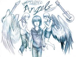 Those Angels Again. by Lunaromon