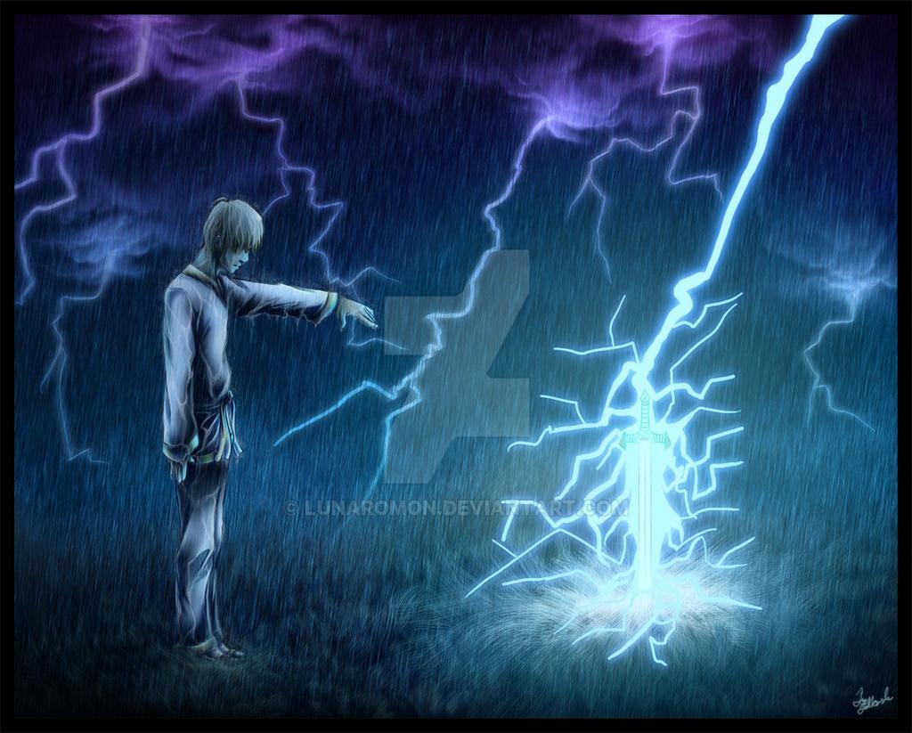 -DC: Thunderstruck- by Lunaromon