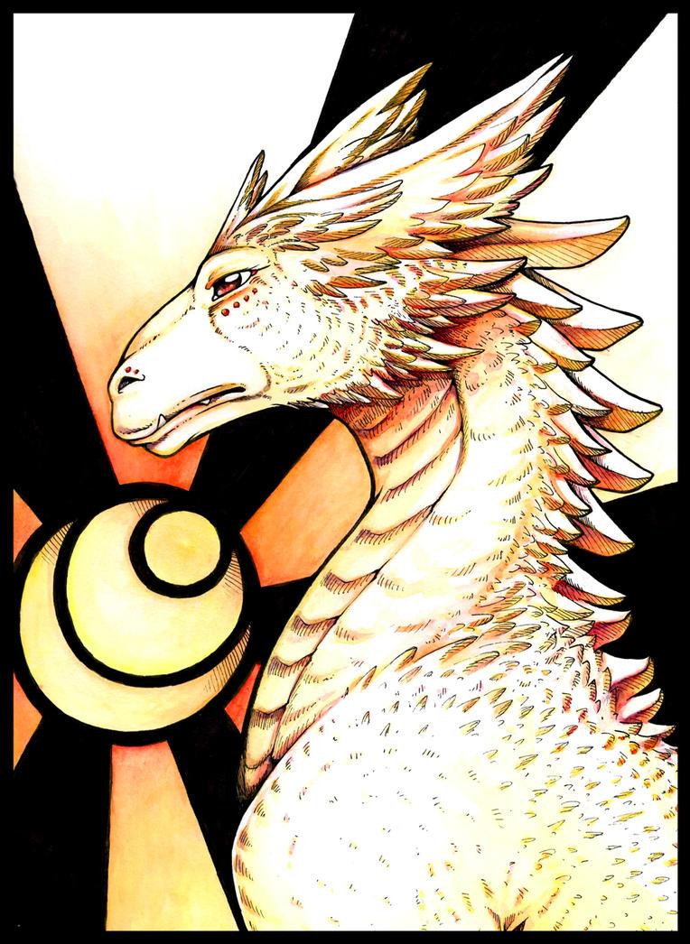 A Dragon by Lunaromon