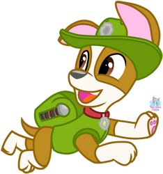 PAW Patrol Tracker by RainbowEevee-DA
