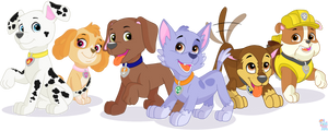 Show Accurate PAW Patrol Pups