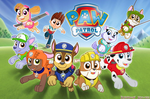 PAW Patrol in action Wallpaper