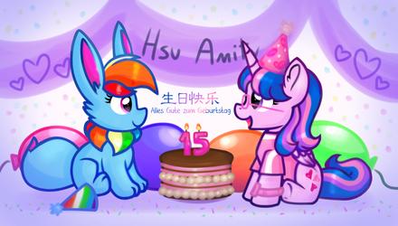 [Chibi] Happy Birthday to Hsu Amity!