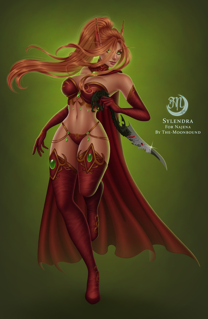 C: Sylendra by The-Moonbound