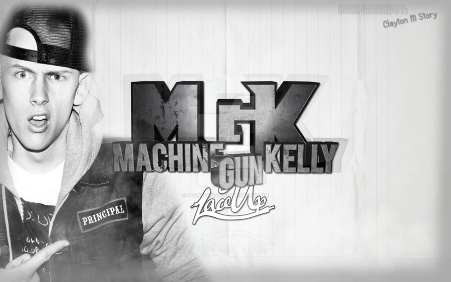 MGK Machine Gun Kelly Lace Up By StoryDesigns