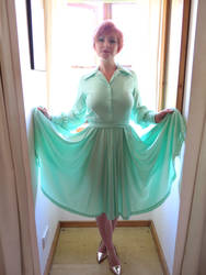 Secretary Dress Lifted by dlang