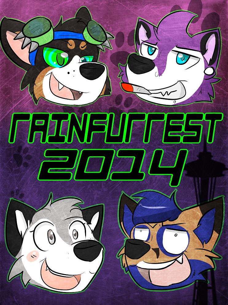 Rainfurrest poster by ilovecorgis