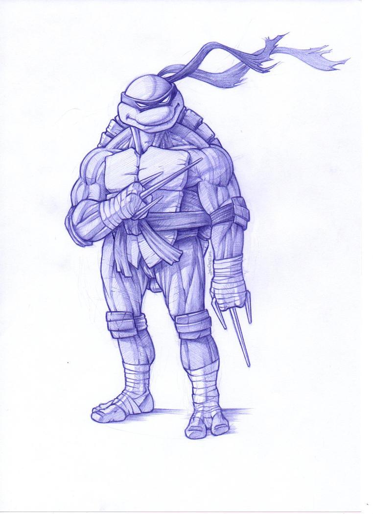 Raphael TMNT by DeadPea