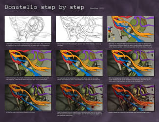 Donatello step by step