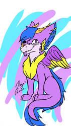 My new sona Royal! (Feral) by Spirit-ulf