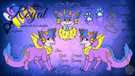 Ref Sheet of Royal by Spirit-ulf