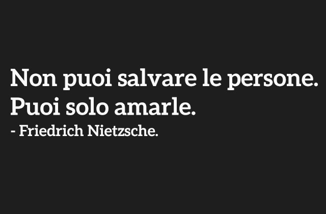 Frasi Tumblr - Puoi solo amarle by SiforItaly