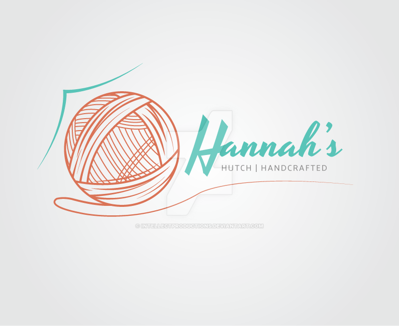 Hannah's Hutch Logo Design by IntellectProductions