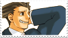 Phoenix Wright Stamp by BunnyPatrol