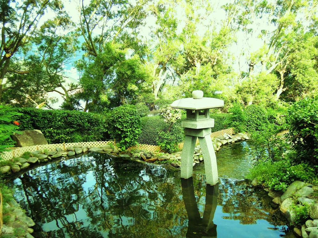 Zen Garden By Thewolfwalksalone On Deviantart