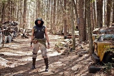 Wasteland Wanderer: The Road by Strangeknowledge