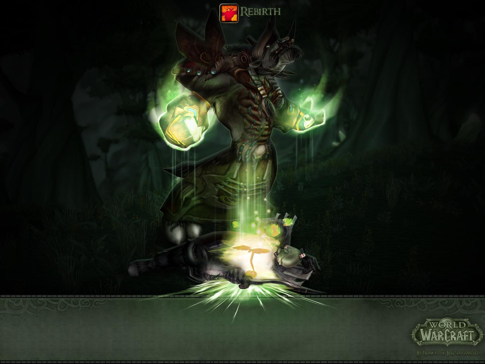 Druid Rebirth by Triggerman