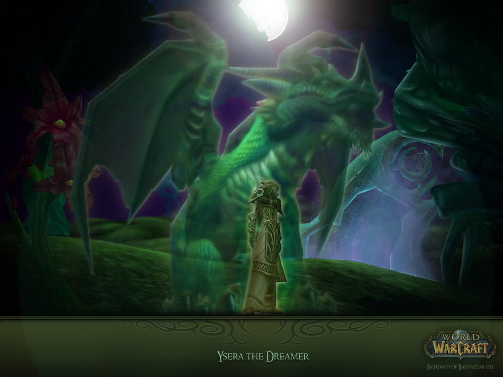 Ysera the Dreamer Wallpaper by Triggerman